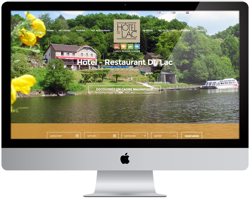 Portfolio - Hotel Du Lac Crozant